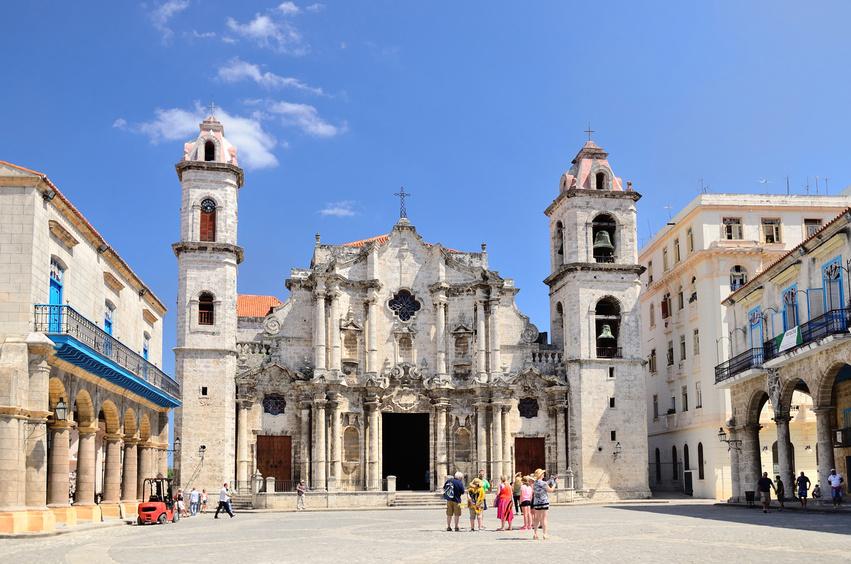 Cathedral de la Havane Cuba