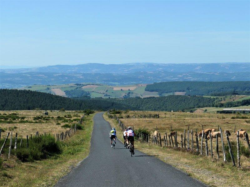 Tour du Massif Central à vélo