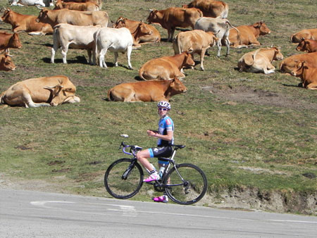 Massif central en vélo