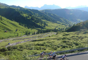 les alpes en vélo