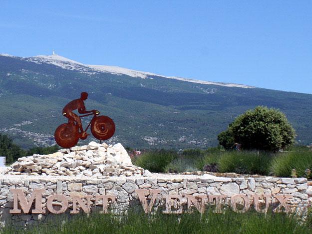 Mont Ventoux en vélo